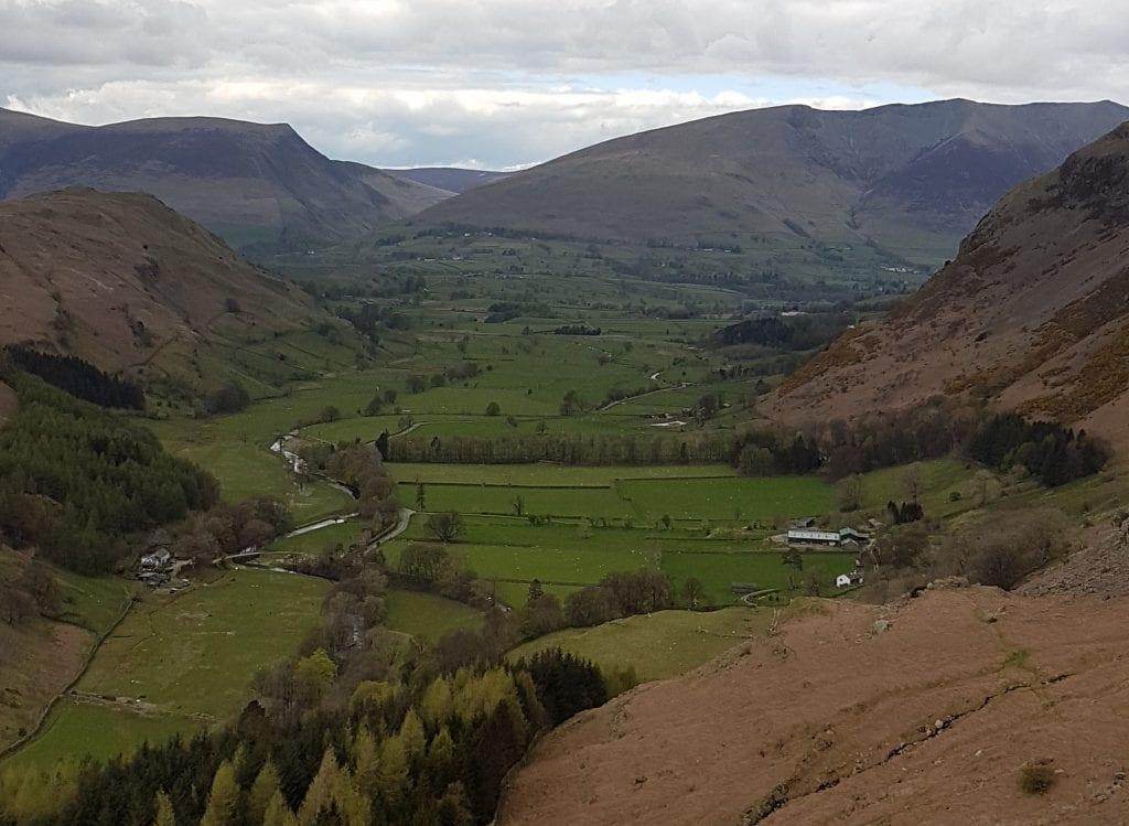 View from Castle Rock near Keswick